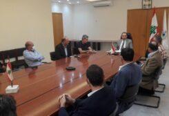 اجتماع وزير الزراعة مع مستوردي الأعلاف