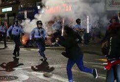 الاحتجاجات في فيلادلفيا