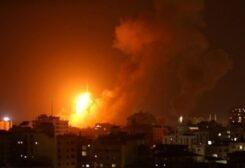 الجيش الإسرائيلي يقصف أهداف في قطاع غزة