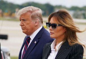 الرئيس دونالد ترامب وزوجته ميلانيا