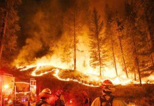 اندلاع الحرائق في أماكن عدة في لبنان