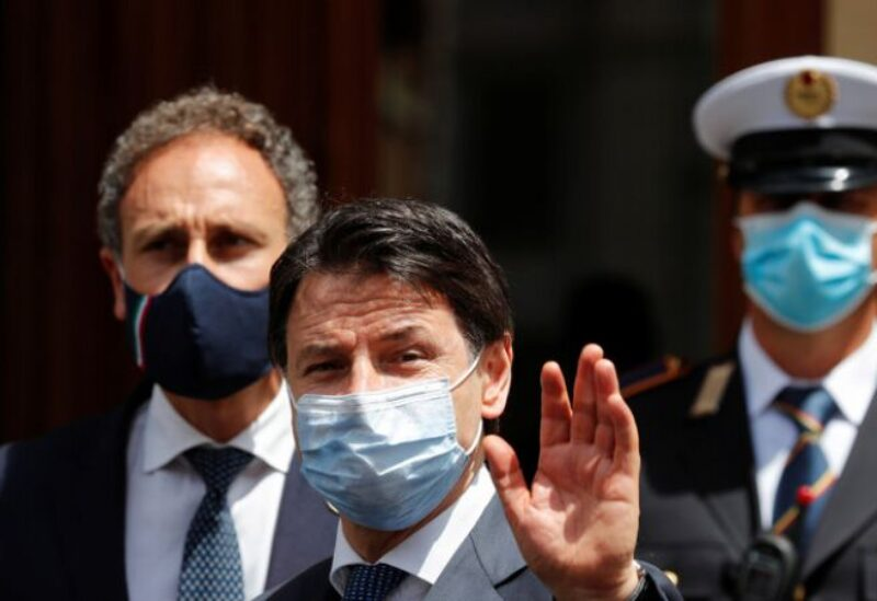 رئيس وزراء إيطاليا جوزيبي كونتي