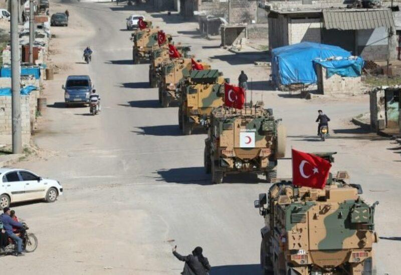 رتل عسكري تركي-أرشيفية