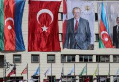 صورة أردوغان بجانب نظيره الأذري