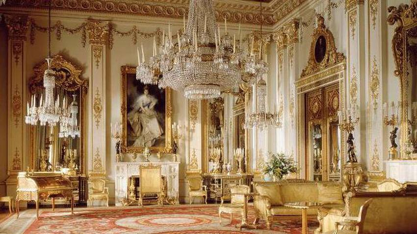 صورة من داخل قصر باكنغهام