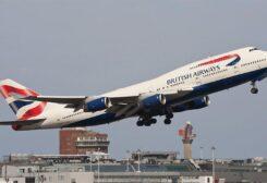 طائرة بوينغ 747 البريطانية