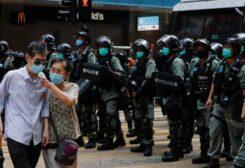 عناصر من قوات الأمن في الصين-أرشيفية
