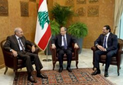 عون وبري والحريري
