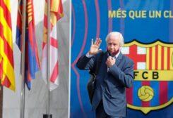 كارلس تيسكتس الرئيس المؤقت لنادي برشلونة
