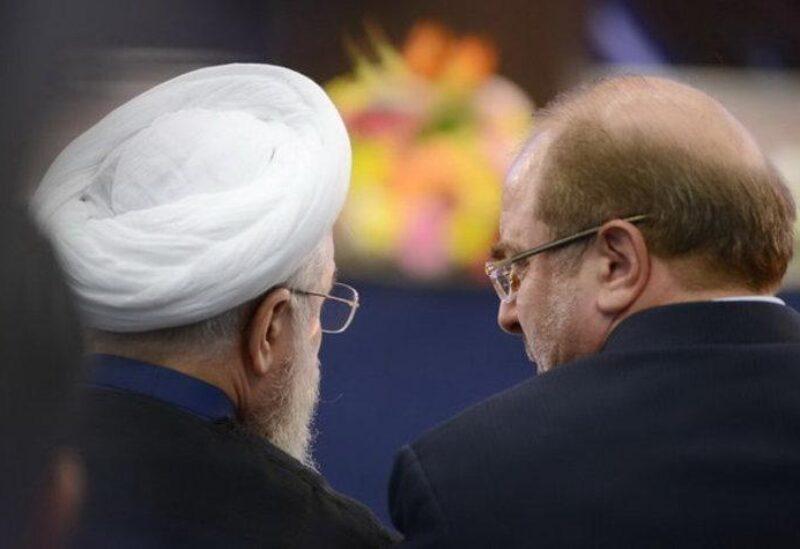 محمد قالبياف وحسن روحاني