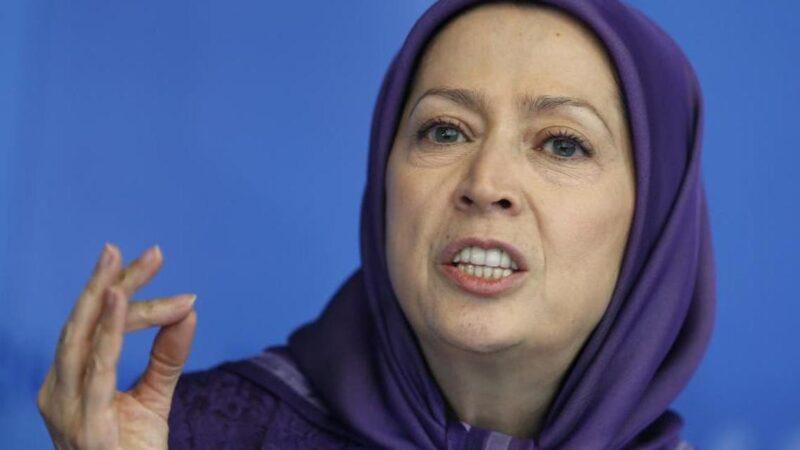 مريم رجوي زعيمة المعارضة الإيرانية في المنفى