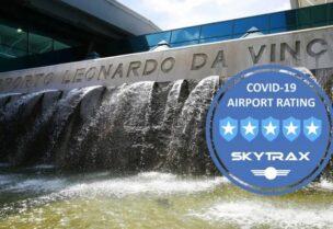 مطار فيوميتشينو الأول عالميا في مكافحة كورونا