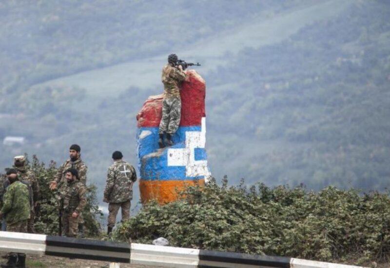 معارك مستمرة في إقليم ناغورني كاراباخ