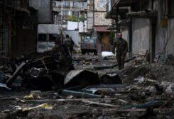 من آثار الحرب بين أرمينيا وأذربيجان في إقليم ناغورني