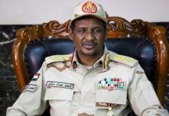نائب رئيس المجلس الانتقالي السوداني حمدان دقلو