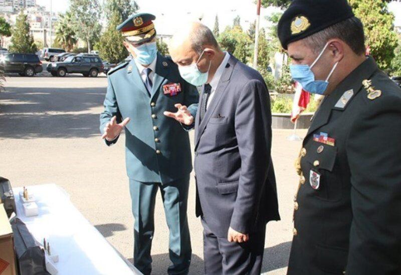 هبة تركية للجيش اللبناني بحضور السفير التركي هاكان تشاكيل