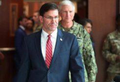 وزير الدفاع الأمريكي مارك اسبر