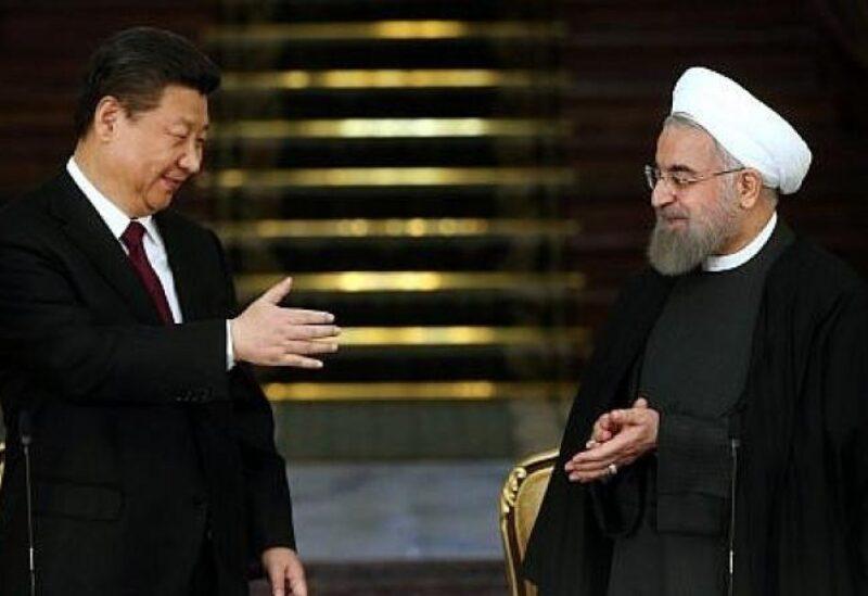 الرئيسان الصيني والإيراني