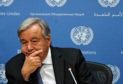 """الأمين العام للأمم المتحدة """"أنطونيو غوتيريش"""""""