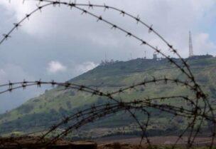 الحدود السورية الجنوبية