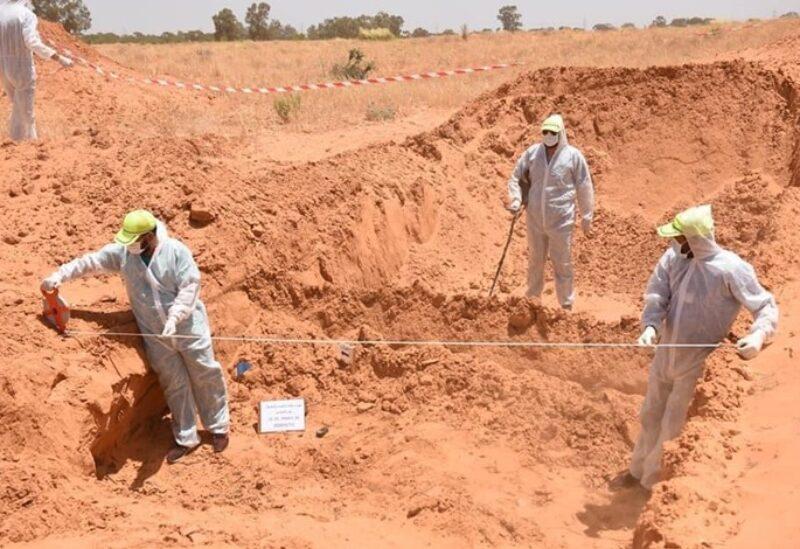 مقابر جماعية في غرب ليبيا