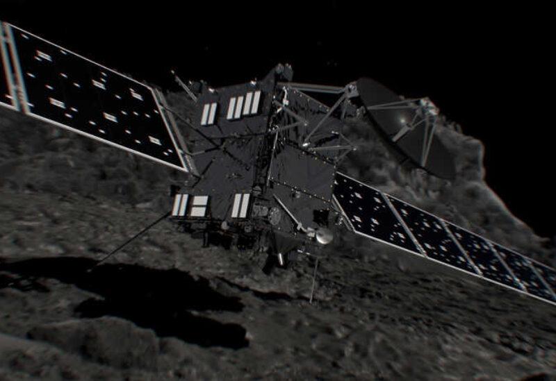 "Comet surface ""Chori"""