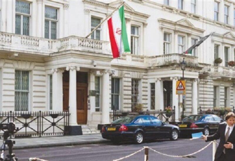 السفارة الإيرانية في بريطانيا