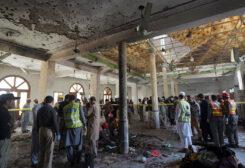 انفجار في مدرسة في مدينة بيشاور الباكستانية