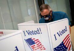 الانتخابات الأمريكية تجري في ظروف صحية مشددة