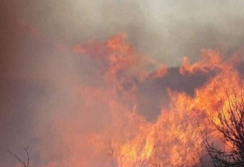 تجدد الحرائق في عدة بلدات لبنانية
