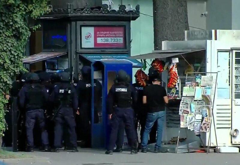 قوات الأمن الجورجية