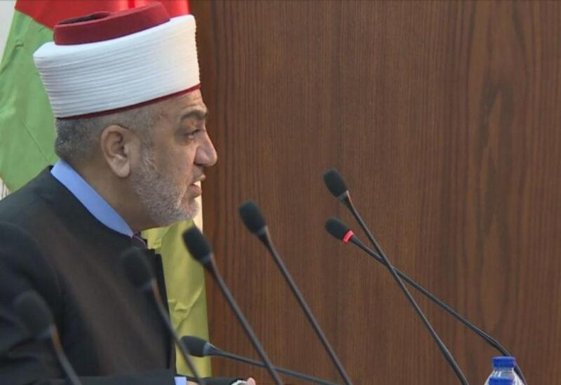 وزير الأوقاف والشؤون والمقدسات الإسلامية في الأردن، محمد الخلايلة