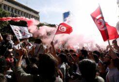 احتجاجات في تونس- أرشيفية