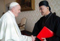 البابا فرنسيس والبطريرك الراعي