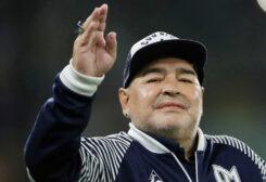الراحل دييغو مارادونا