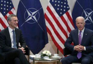 الناتو يدعو بايدن لعقد قمة في بروكسل