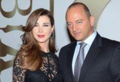 النجمة نانسي عجرم وزوجها الدكتور فادي الهاشم