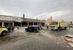 انفجار في مطعم