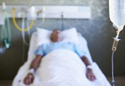 رجل في غيبوبة - تعبيرية
