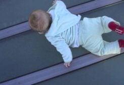سقوط طفل - تعبيرية