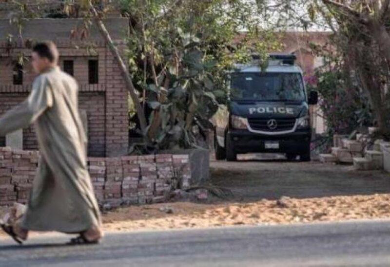 سيارة تابعة للشرطة المصرية
