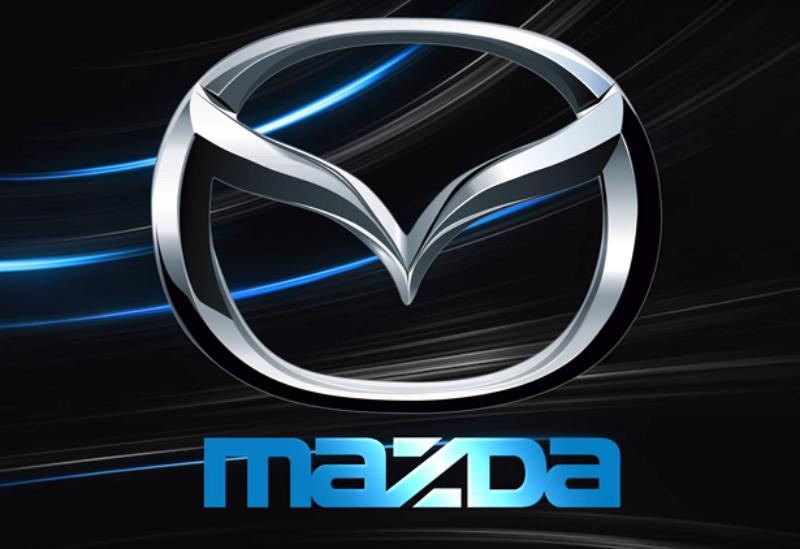 Logo of the Japanese company Mazda