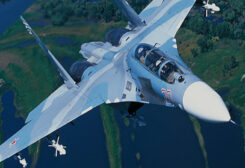 طائرة حربية روسية - سوخي 27