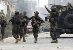 عناصر من الجيش الأفغاني-أرشيفية