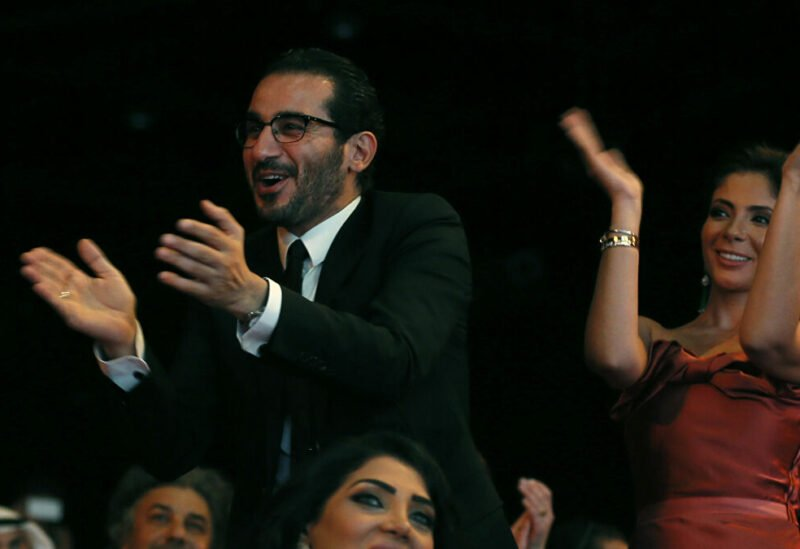 Mona Zaki and Ahmed Helma