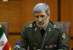 وزير الدفاع الايراني