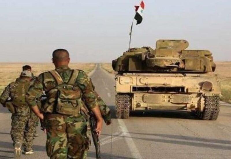 عناصر من جيش النظام السوري