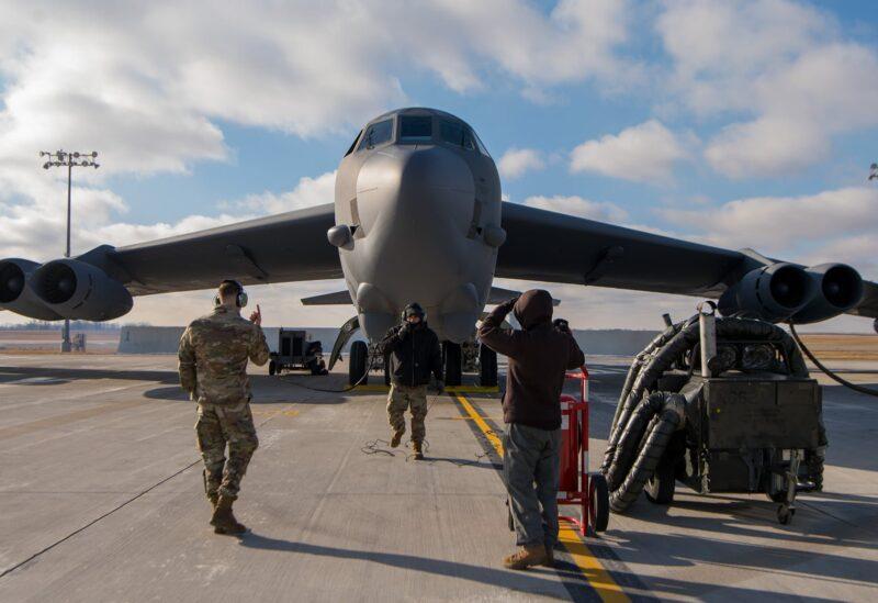 طاقم العمل الجوي لطائرة B-52H