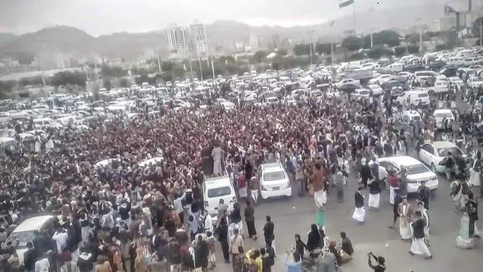لقطة من فيديو اليوتيوبر اليمني