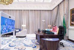 اجتماع الملك سلمان بمجلس الوزراء السعودي